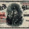 1907 $5 Large Size Red Seal United States Note