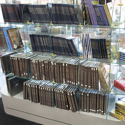 We have a variety of books on coin and currency collecting, as well as many coin albums and folders to choose from.