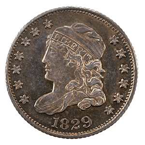 Capped Bust Half Dime (1829 - 1837)