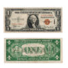 1935 $1 Hawaii Silver Certificate Red Seal