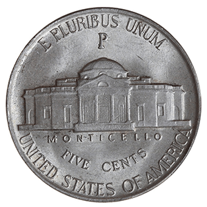 Jefferson Nickel (1938 - 2003)