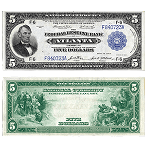 Federal Reserve Bank Notes