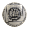 New Mexico Statehood Golden Anniversary Silver Medal