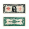 1923 $1 Large Size Red Seal United States Note