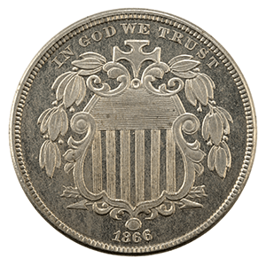 Shield Nickel (1866 - 1883)
