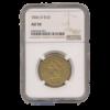 1846 O $10 Gold Eagle AU50 NGC