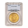 1878-S $20 Gold Liberty PCGS MS62