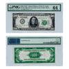 1928 $500 St. Louis PMG 64CU Federal Reserve Note