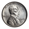 1943 Lincoln Wheat Cent (Steel)