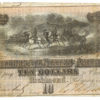 1864 7th Issue $10 Confederate States