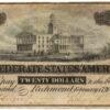 1864 $20 Confederate States