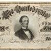 1864 $50 Confederate Note