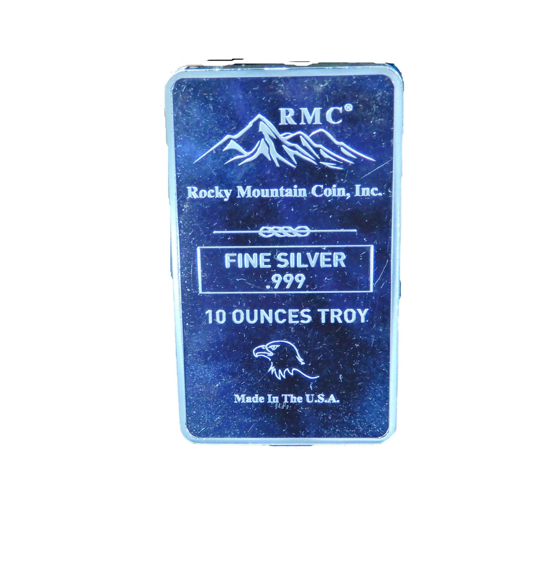 Silver Bars Rocky Mountain Coin