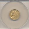 1925-D $2.50 Gold Indian Head ANACS MS62