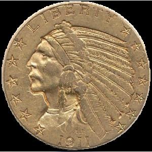 $5 Gold Half Eagle (1795 - 1929)