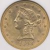 1893 $10 Gold Liberty Head NGC MS63