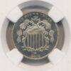 1875 Shield 5C NGC PF 65 Cameo