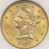 1901 $10 Gold Liberty Head Type NGC MS61
