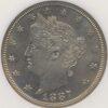 1887 Liberty 5C NGC PF65
