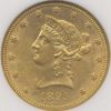1895 $10 Gold Liberty Head NGC MS61