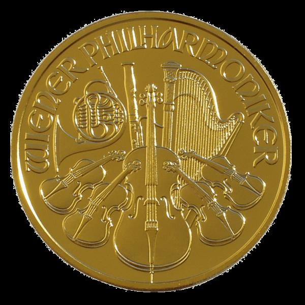 Austrian Gold Philharmonic Reverse