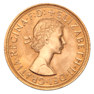 British Gold Sovereign Obverse