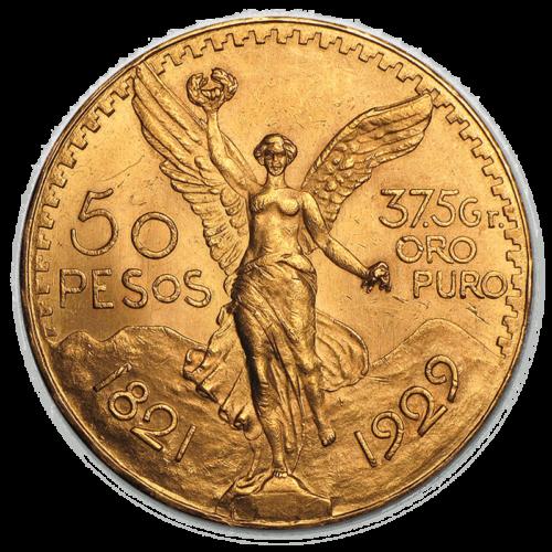 Mexican Centenario Obverse