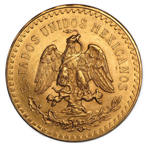 Mexican Centenario Reverse