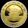 Chinese Gold Panda Reverse