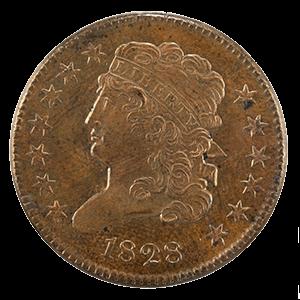 Classic Head Half Cent (1809 - 1836)
