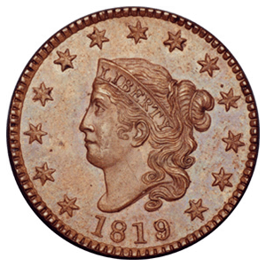 Coronet Cent