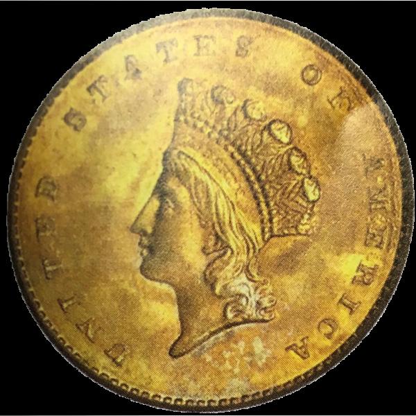 Gold Dollar (1849 - 1889)