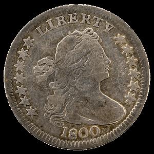 Draped Bust Half Dime (Heraldic Eagle)