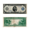 1913 $5 Federal Reserve Note Blue Seal Large Size