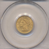 1873 $2.50 Gold Liberty Head Type Open 3 PCGS MS63
