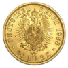 German Gold Mark Reverse