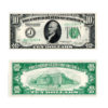 1926 $10 Green Seal Federal Reserve Note