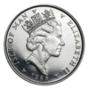 Isle of Man Platinum Noble Obverse