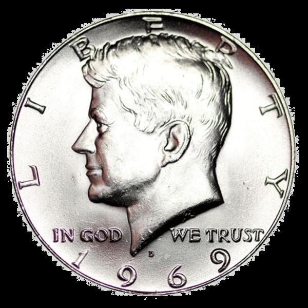 Kennedy 40% Silver Half Dollar Obverse