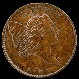 Liberty Cap Half Cent (1794 - 1797)