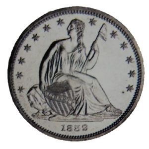 Seated Liberty Half Dollar (1839 - 1891)