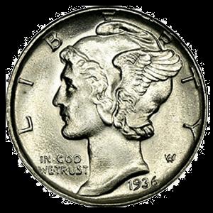 Mercury Dime (1916 - 1945)