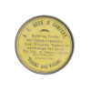 Vintage Trunks and Valises Advertising Celluloid Pocket Mirror by A.E. Meek & Company Denver, CO