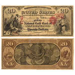 National Gold Bank Notes