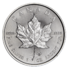 Canadian Platinum Maple Leaf Reverse