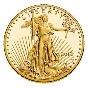 U.S. Gold Eagle Obverse