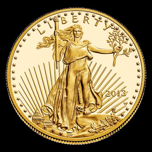 U.S. Gold Eagle Obverse