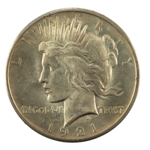 Peace Dollar Obverse