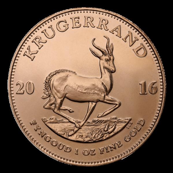 South African Krugerrand Reverse