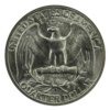Washington Silver Quarter Reverse
